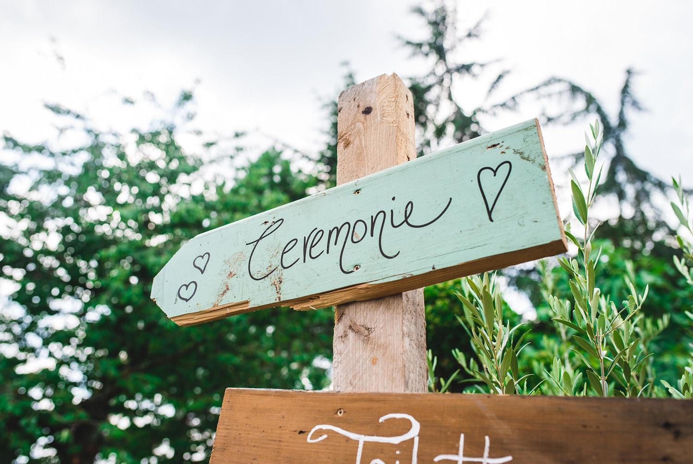 Cérémonie de mariage en Alsace