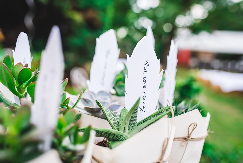 Cérémonie de mariage champêtre