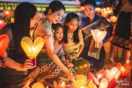 Boun Ok Phansa au Laos