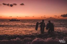 Lever de soleil à Bali