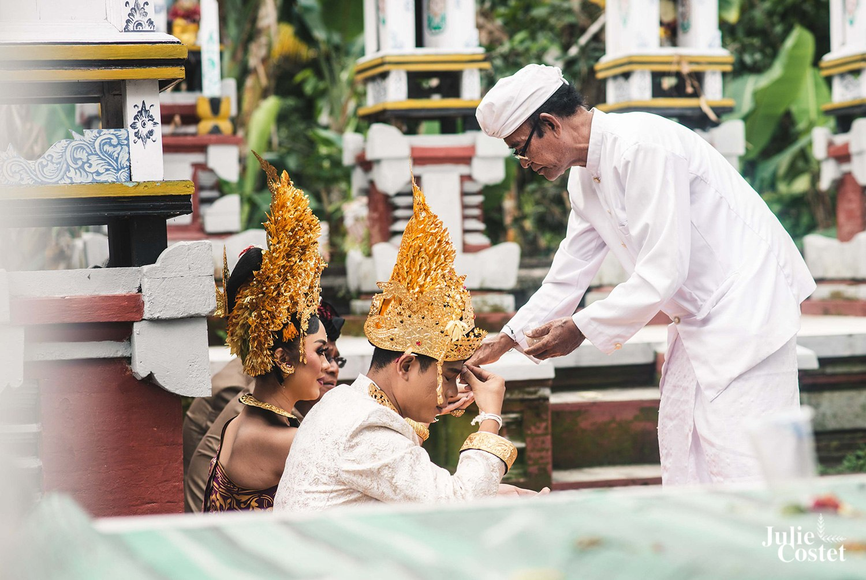 Mariage traditionnel Balinais
