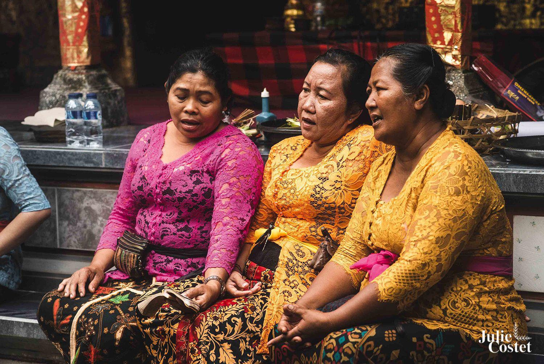 Mariage traditionnel à Bali