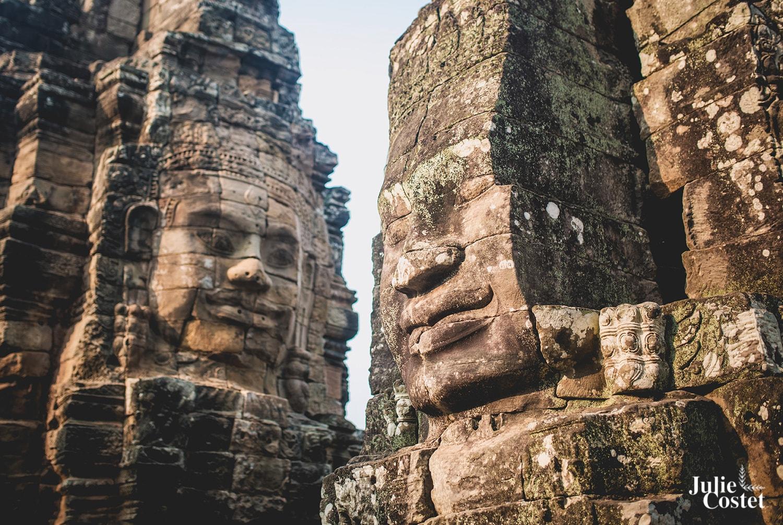 Visages des Temples d'Angkor