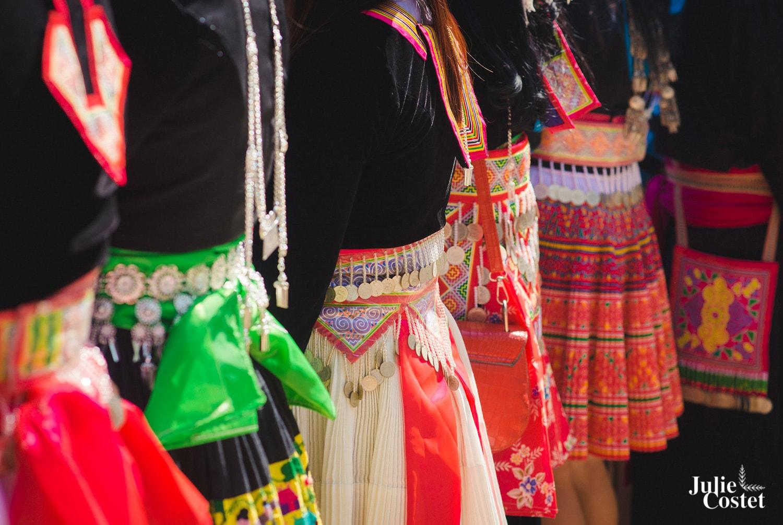 Vêtements de l'ethnie Hmong