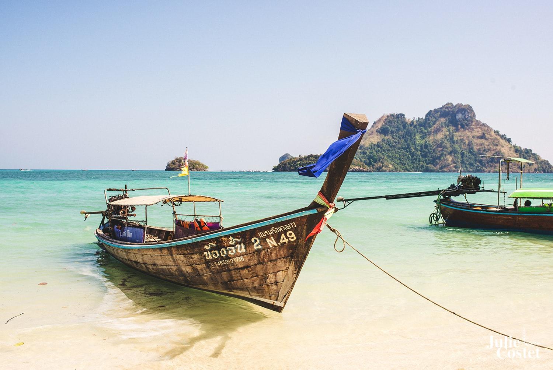 Paysage de Thaïlande, île paradisiaque