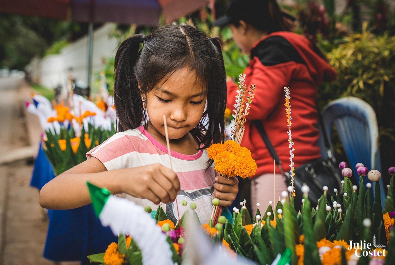 Lai Heua Fai la fête des Lumières à Luang Prabang