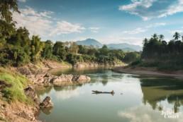 Paysage de Luang Prabang