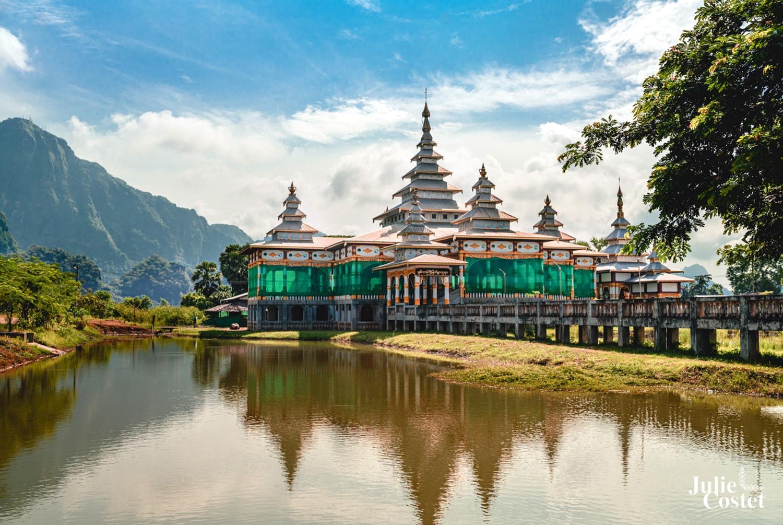Paysage de Birmanie Hpa-An
