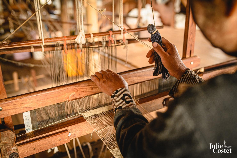 Tissage en Birmanie