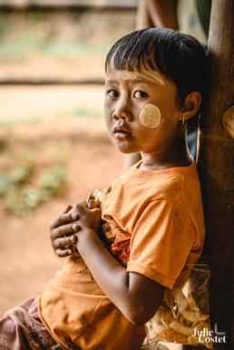 Tanaka de Birmanie
