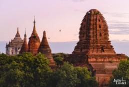 Temples de Bagan en Birmanie