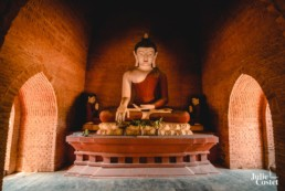 Statue de Bouddha à Bagan