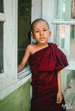 Jeune moine de Birmanie