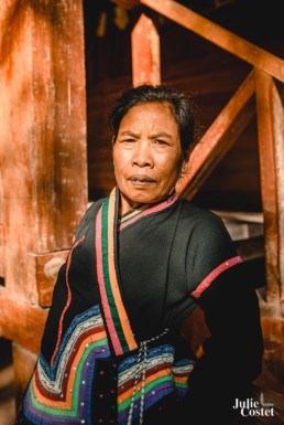 Femme de l'ethnie Kmu au Laos