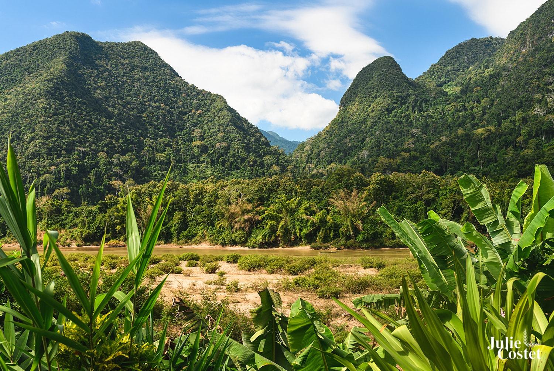 Paysage de Muang Ngoi