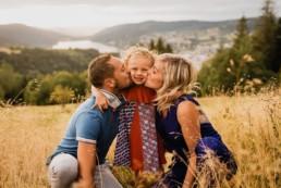 Séance photo famille à Gérardmer dans les Vosges